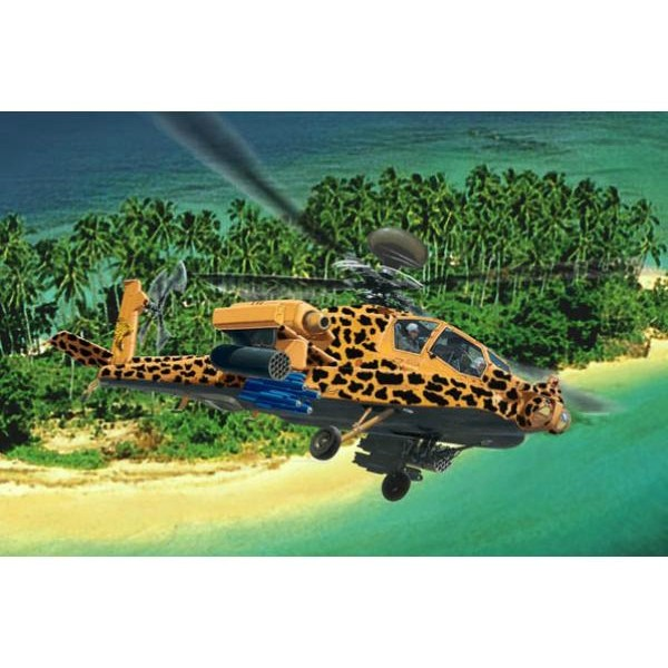 """Игрушка Набор для сборки 1:100 """"Вертолет AH-64 Apache"""", 6631 REVELL"""