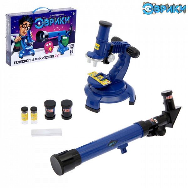 Набор ученого Телескоп Микроскоп 1629481 Эврики