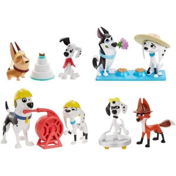 Фигурки 101 Dalmatians в ассортименте GBM37 Mattel