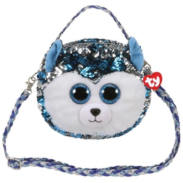 Мягкая сумочка с длинным ремешком собачка Slush 95125 TY