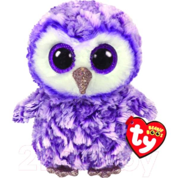 Мягкая игрушка  Фиолетовая Сова Moonlight 15см  36325 TY