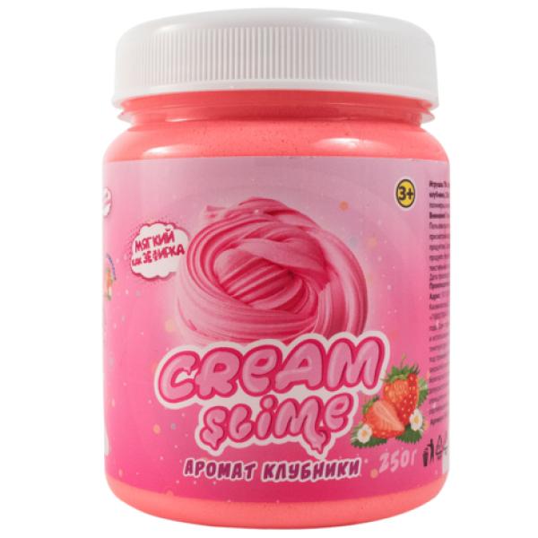 Игрушка Cream-Slime с ароматом клубники