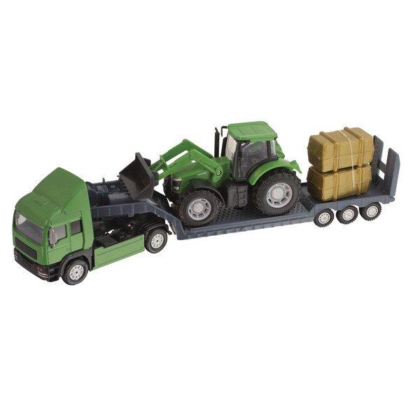 Фермерский грузовой автомобиль с трактором 1372847.17Gu HTI (Teamsterz)