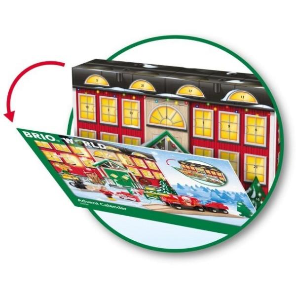 Деревянная ж/д - Игровой набор Рождественский календарь 33898 BRIO