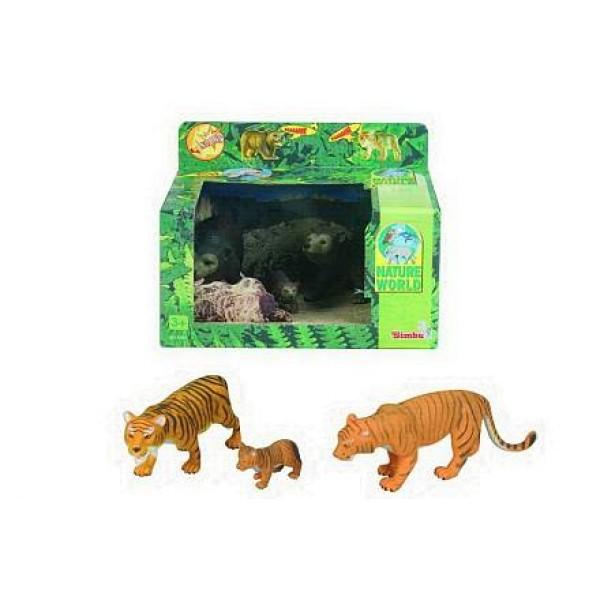 Игровой набор Семейство тигров/медведей со звуком 4345637 Simba