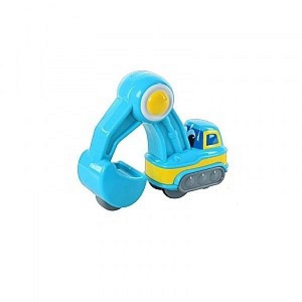 3977 Hap-p-Kid Серия Нажми и поедет Экскаватор синий