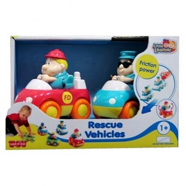 221G Hap-p-Kid Спасательные машинки: пожарная+скорая помощь