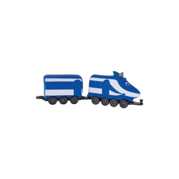 38501 CHUGGINGTON Игровой набор Чаггингтон – Паровозик Ханзо с вагончиком