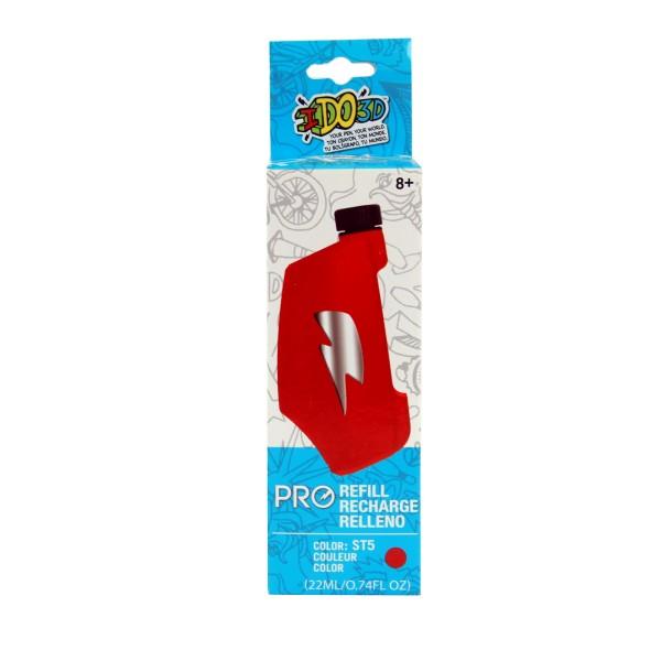 """Картридж для ручки """"Вертикаль PRO"""", красный., 164058 REDWOOD 3D"""