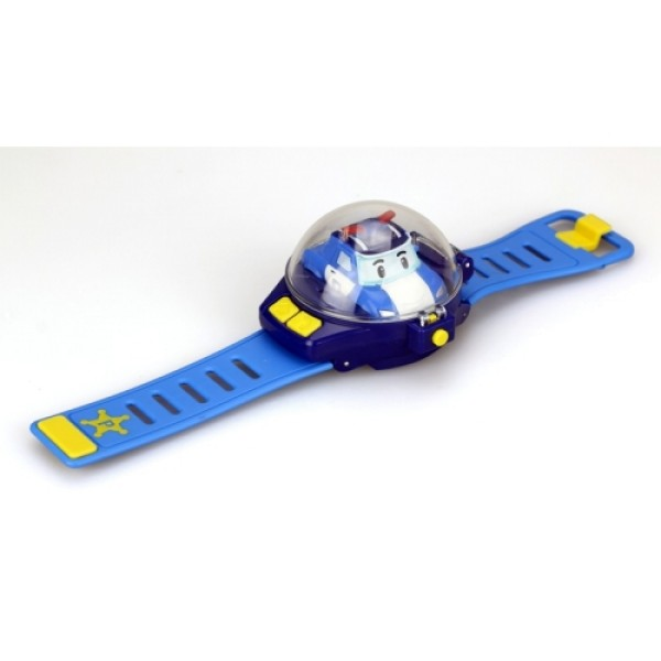 83312 Poli Часы с мини машинкой на д/у