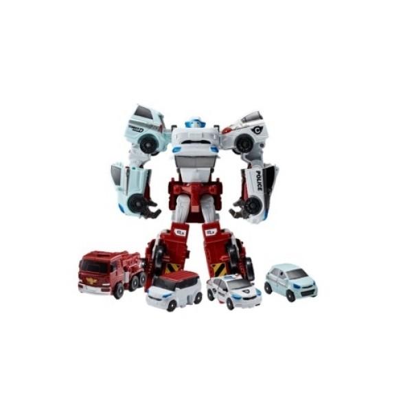 301057 Tobot Робот-трансформер Мини тобот Кватран