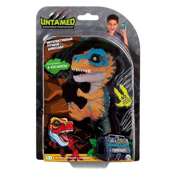 Интерактивный динозавр Fingerlings Скретч 12 см WowWee 3787
