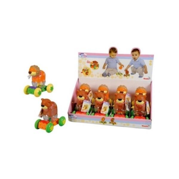 4014733 Simba Животные на колесиках, 13 см,  2 в.