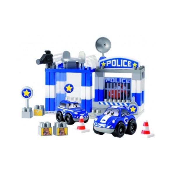 3081 Abrick Конструктор полицейский участок, 57 дет