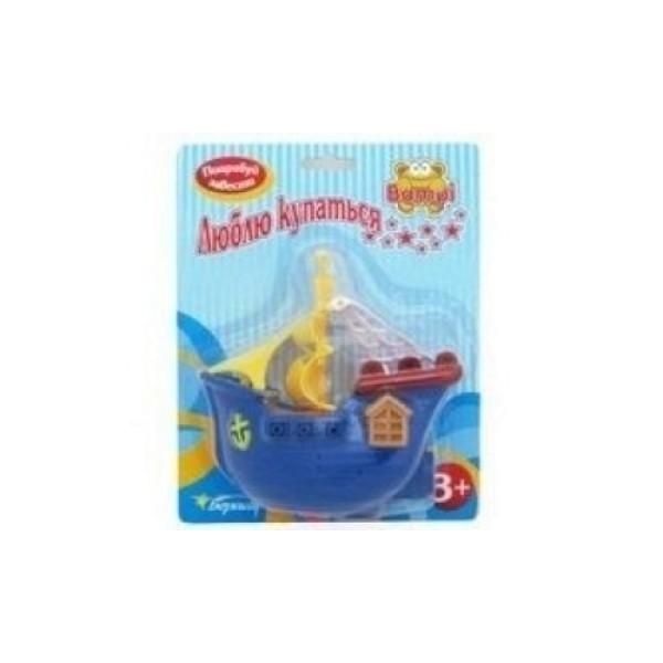 63985-1 Bampi Заводная игрушка Пиратский корабль