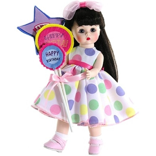 Кукла с шариками брюнетка 20 см Madame Alexander 64491