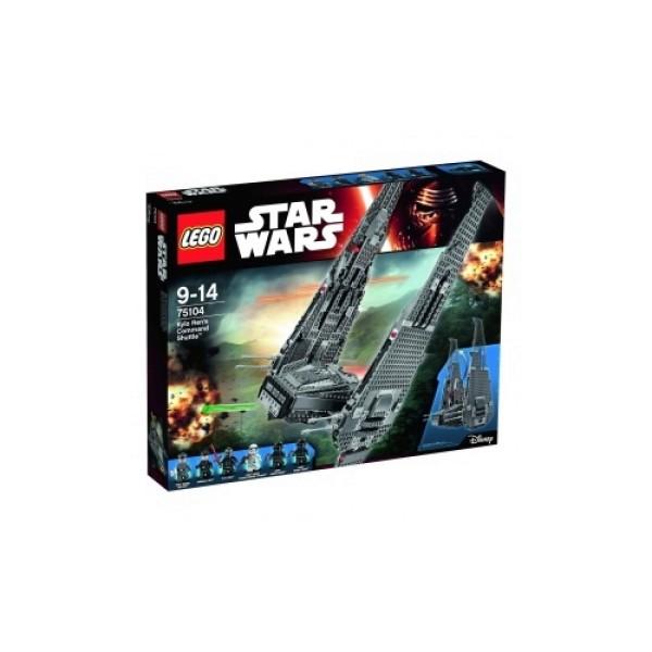 75104 Lego Звездные войны Командный шаттл Кайло Рена