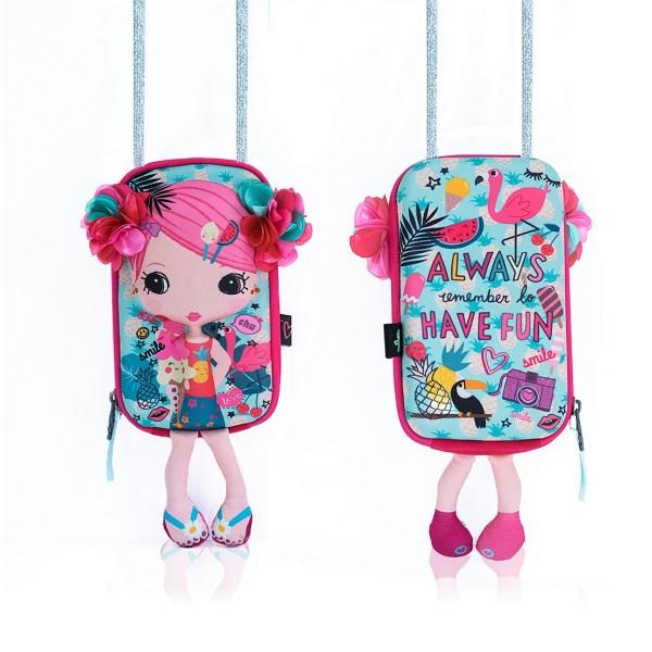 Сумочка-куколка Цветочек, 87012 OKIEDOG