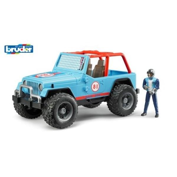 02-541 Bruder Внедорожник Cross Country Racer синий с гонщиком