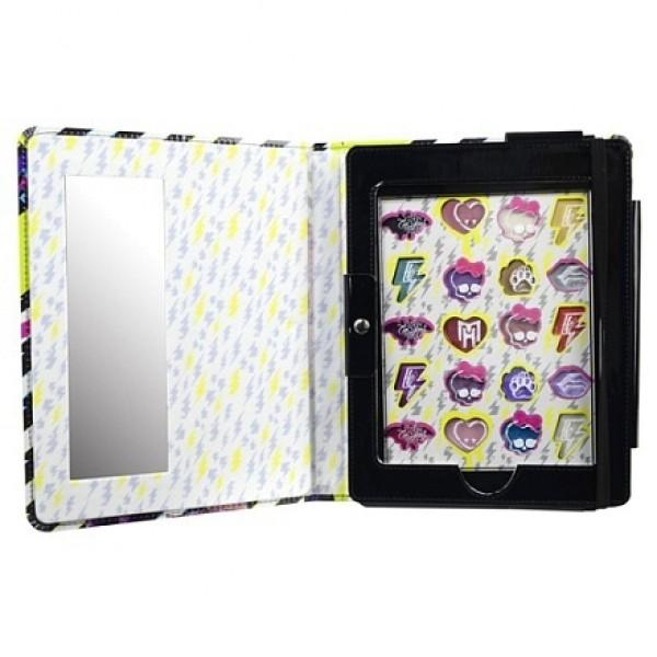 9706651 Monster High Игровой набор детской декоративной косметики в чехле для планшета