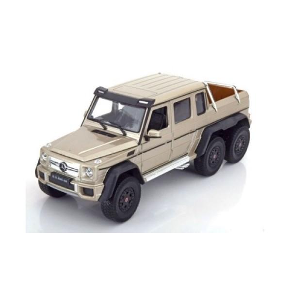 24061 Welly Модель машины 1:24 Mercedes-Benz G63 AMG 6x6