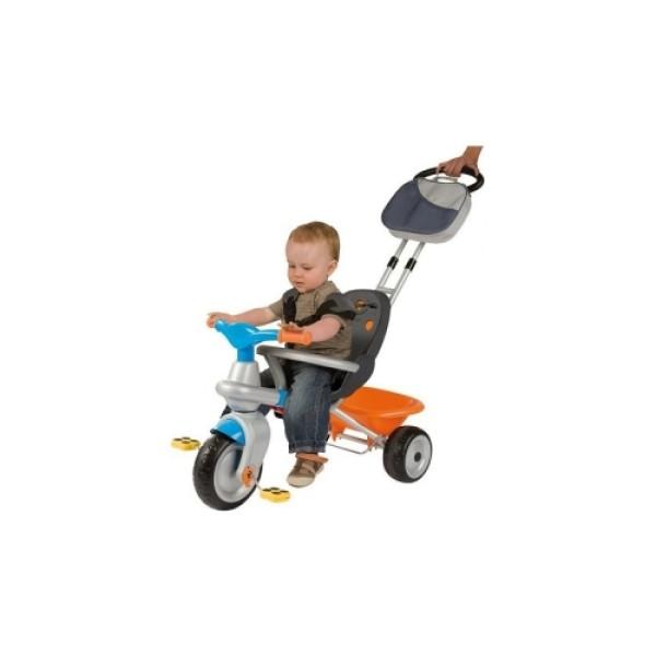 Трехколесный велосипед с сумкой