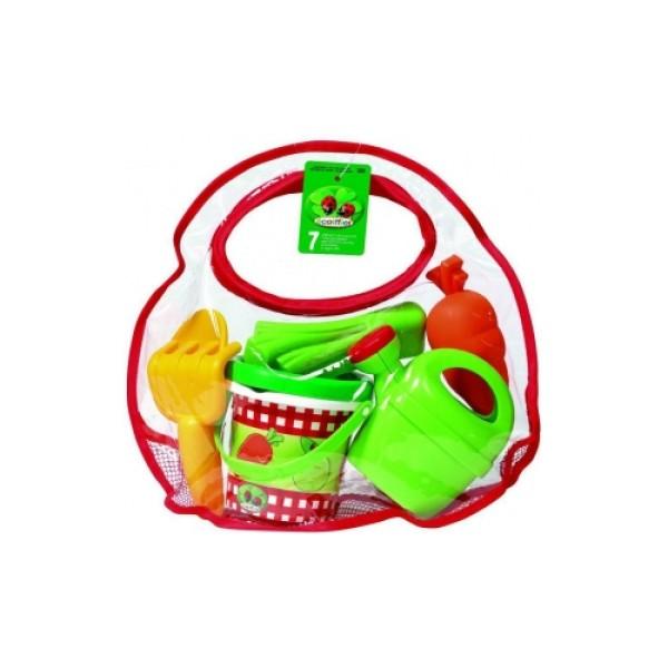 """331 Ecoiffier Игровой набор """"Огород"""" в сумке"""