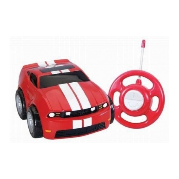 Машинка р/у Ford Mustang, My first RC: GoGo Auto, мягкая пластмасса,от 2-х лет