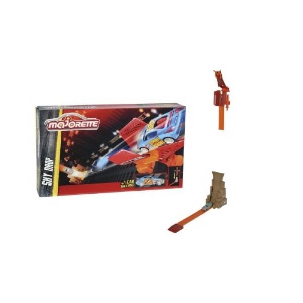 2058010 Majorette Трек Stunt Heroes - падение с неба и 1 машинка
