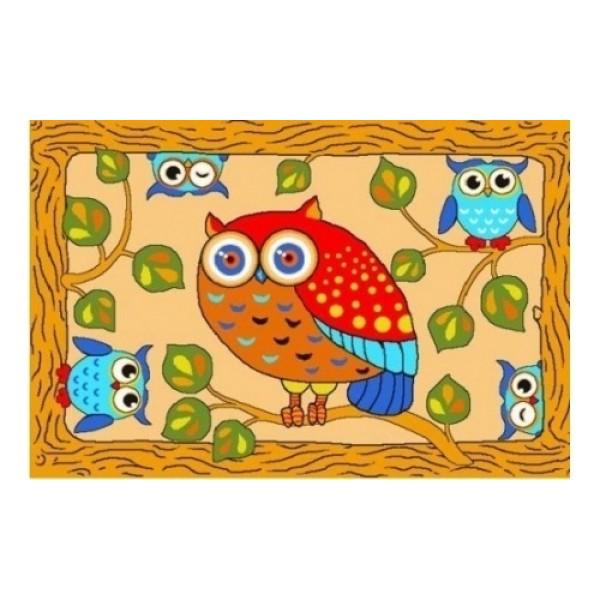 H00417432 Нева Тафт Детский ковёр Сова