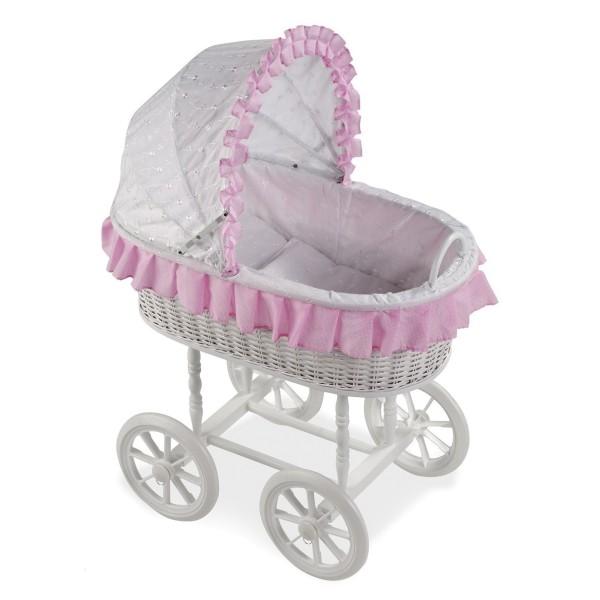 Т59794 Arias ELEGANCE Кроватка-люлька для кукол с капюшоном