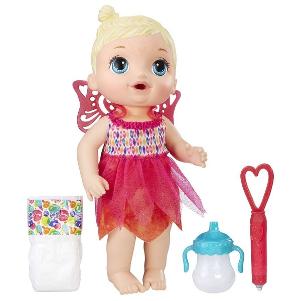 B9723 Hasbro Кукла Малышка-фея Alive