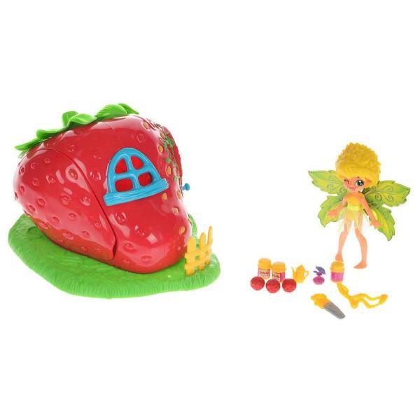 84208-1 Fairykins Игровой набор - Фея Данди и Клубничный Домик