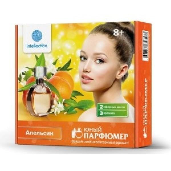 717m INTELLECTICO Набор Юный парфюмер мини - Апельсин