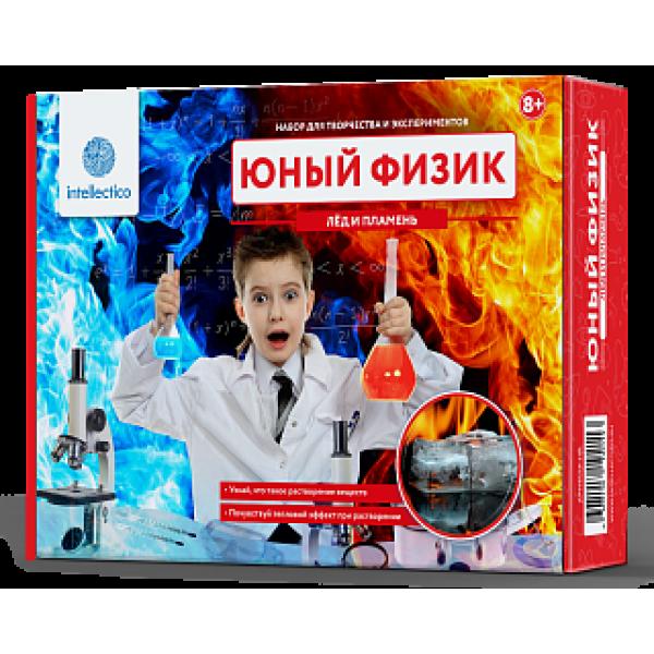 206m INTELLECTICO Набор для опытов Лед и пламень
