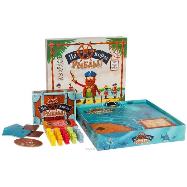 52011m COSMODROME GAMES Настольная игра На корм рыбам