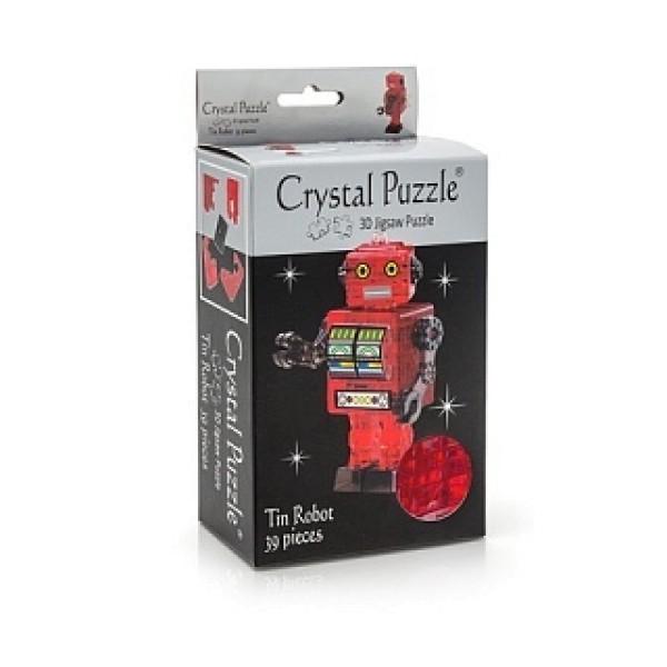 90151m Головоломка CRYSTAL PUZZLE Робот красный