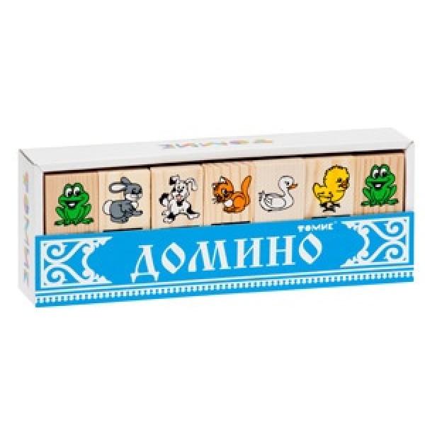 5555-1m ТОМИК Игра Домино Животные