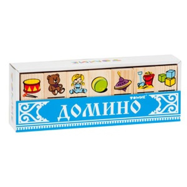 5555-3m ТОМИК Игра  Домино Игрушки