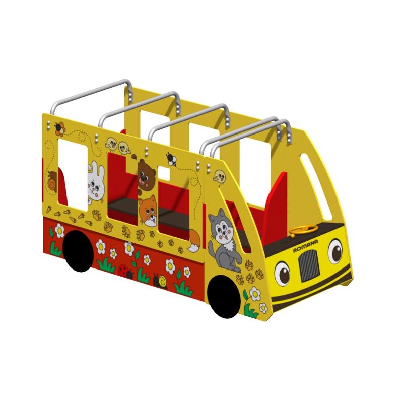 Домик-автобус